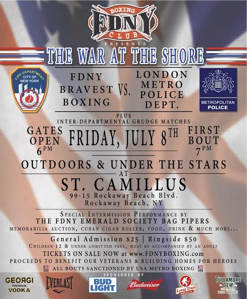Bravest Set to Box London Cops for Cause