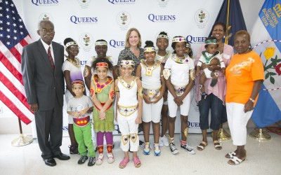 Borough Hall Hosts Carnival Costume Design Workshop