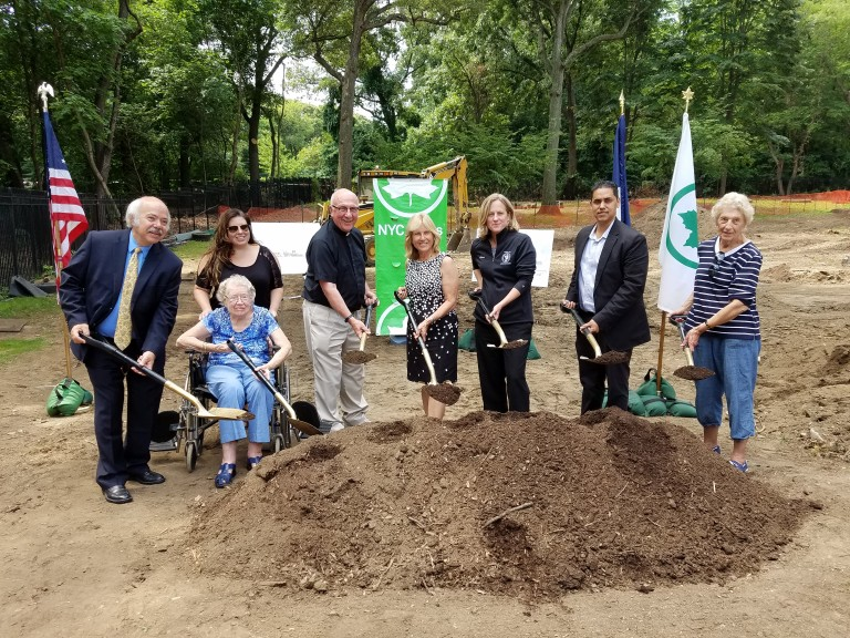 Work Begins on Forest Park Playground