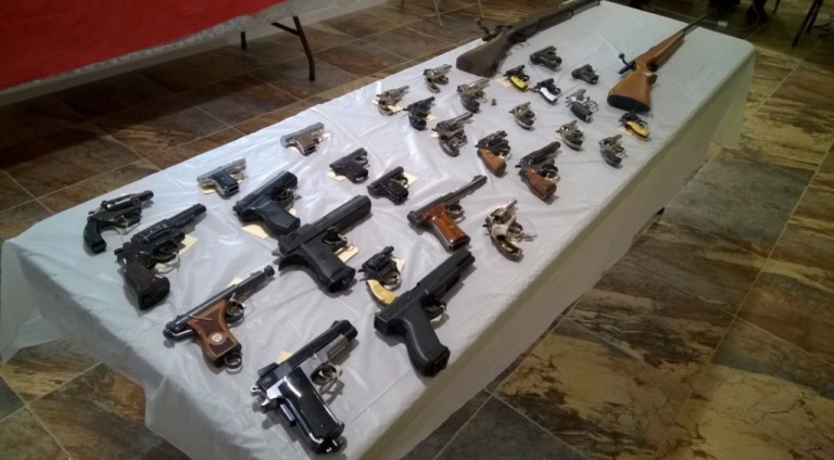 Gun Buy Back Nets Dozens of Weapons