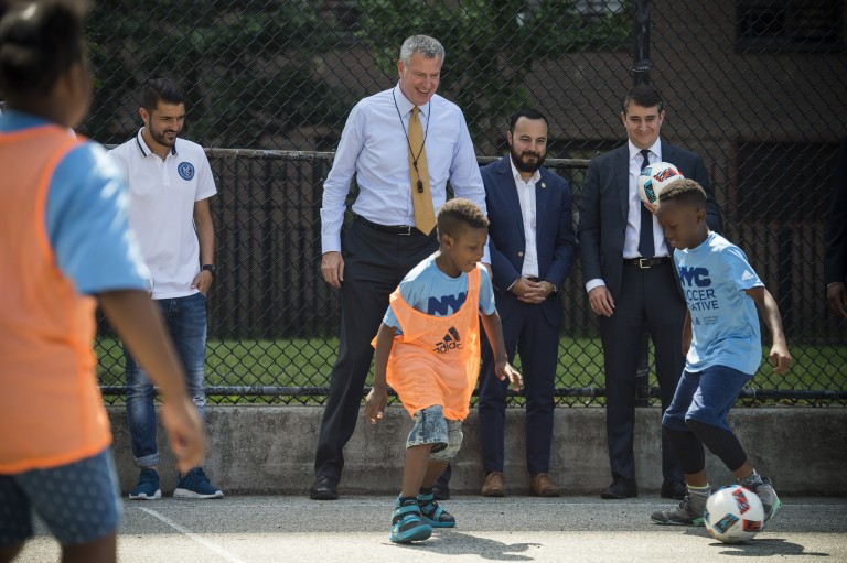 Public-Private Partnership Set to Bring 50 Soccer Fields to Underserved Neighborhoods
