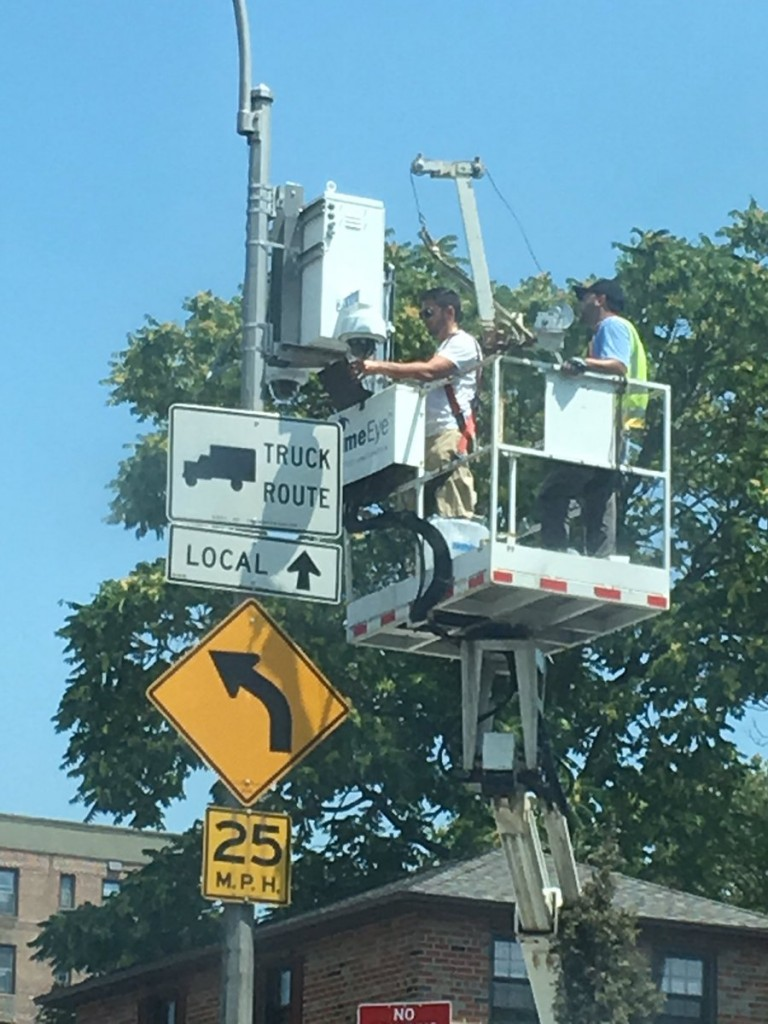 At Long Last, Security Cameras Installed around Forest Park