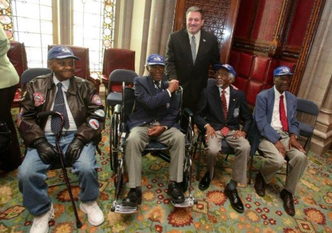 Tuskegee Airmen Descend on Albany