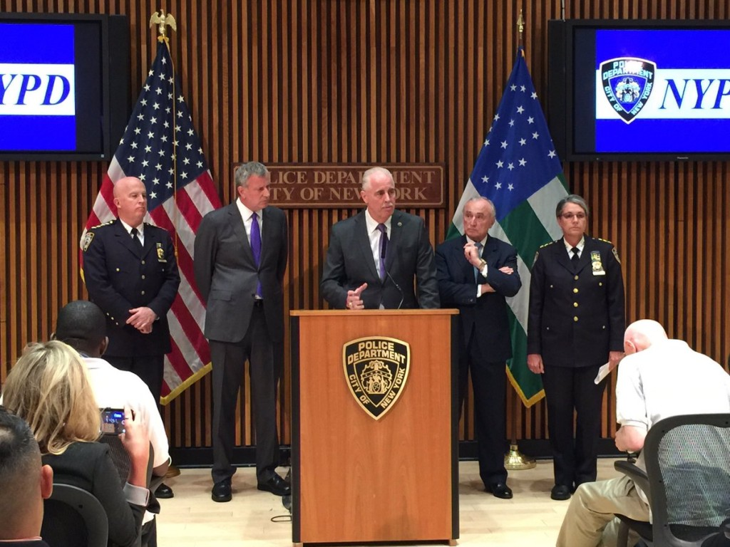 NYPD Chief of Detectives Robert Boyce on Monday evening detailed how investigators arrived at the suspect currently in custody.