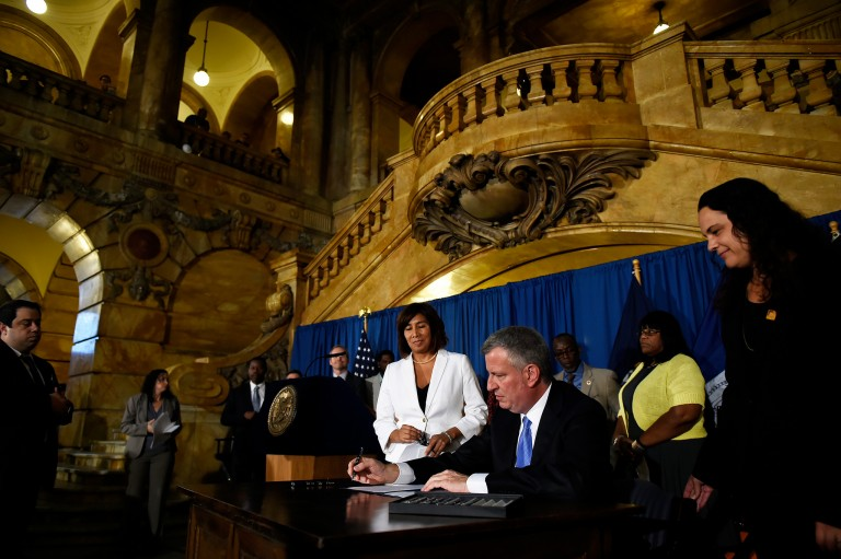 Mayor Signs Bills into Law that 'Improve Transparency at NYPD'