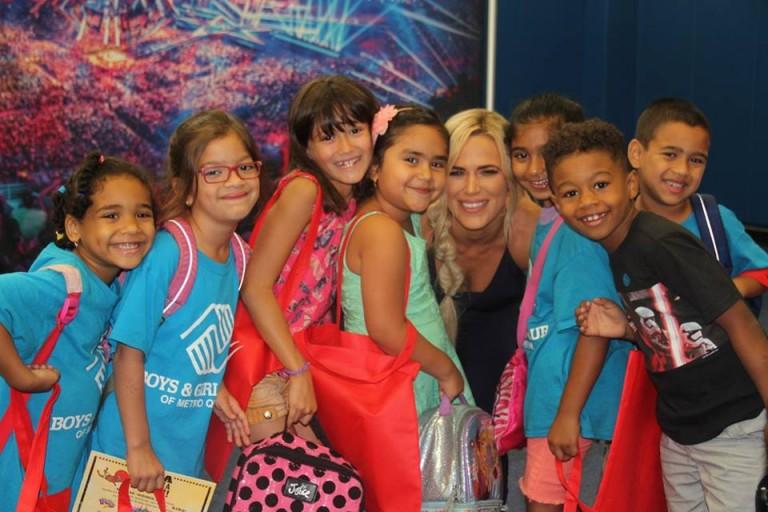WWE Stars Lead Reading Bash at Richmond Hill Boys & Girls Club
