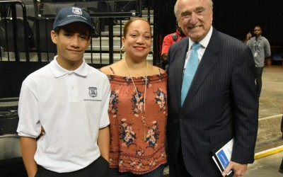 Future Finest Graduate from NYPD Youth Police Academy