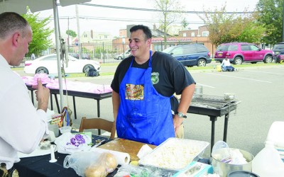 Finest Fare Bests Bravest at  Battle of the Badges Cook-Off