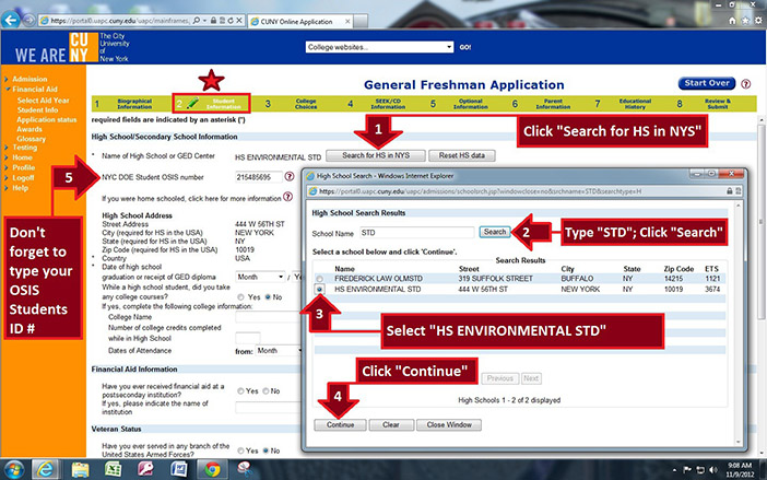 cuny application fee waiver