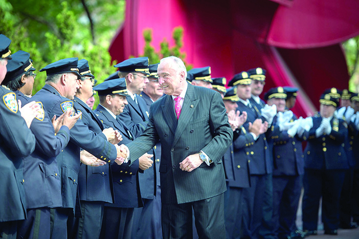Bratton Rides off into  City Sunset as O'Neill Era Begins at NYPD