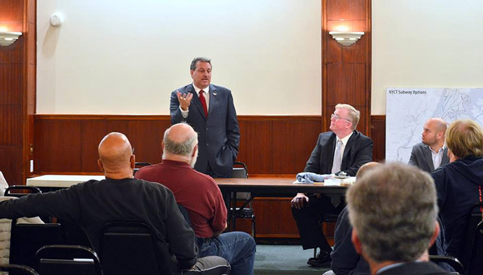 Candidates Share Stances on  Area Transportation Issues at Civic Election Forum