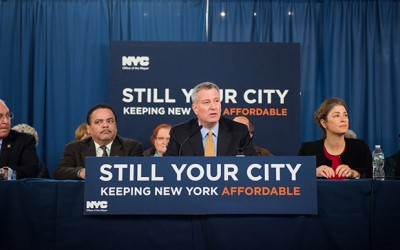 Mayor Extols Administration's Affordable Housing Record