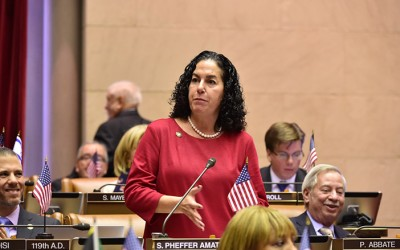 Pheffer Amato Selected to Serve on Assembly  Committees on Racing & Wagering and Veterans Affairs