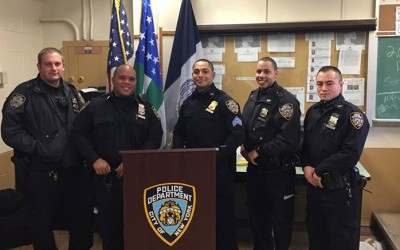 106th Precinct Officers Hailed as Heroes  for Saving Suicidal Man