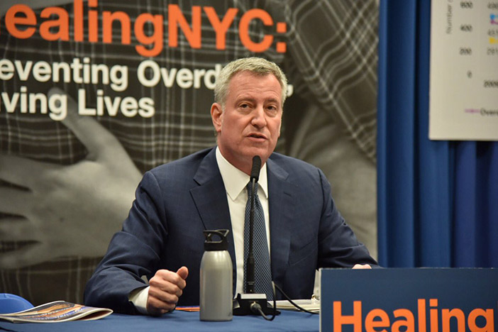City Launches Initiative  to Reduce Opioid Overdose Deaths