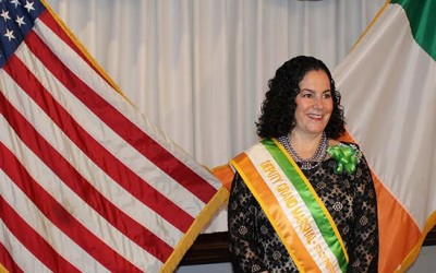 Pheffer Amato Installed as Deputy Grand Marshal  for Rockaway St. Patrick's Day Parade