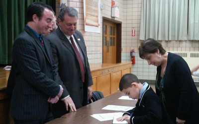 Students Create  School Bill of Rights