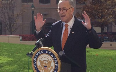 Trump Cuts to TSA, Coast Guard  'Would Spell Real Trouble' for NYC Security: Schumer