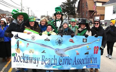 Revelers Descend on Rockaway  for Annual St. Patrick's Day Parade