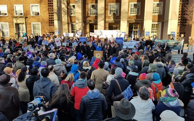 Strength in 'Diverse'  Numbers as Queens  Rallies at Borough Hall