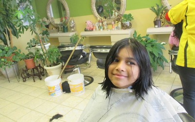 Hair Care: Richmond Hill Girl Donates Locks  to Kids with Cancer