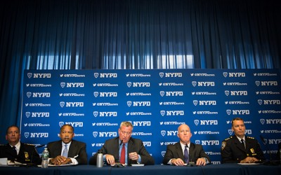 Mayor, NYPD Tout City's Safest  First Quarter in Modern CompStat Era