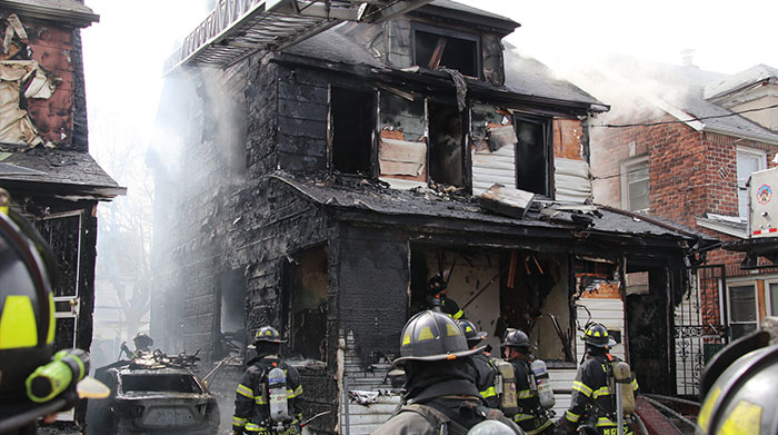 Queens Village Inferno Ends Five Young Lives; No smoke detectors discovered inside doomed home