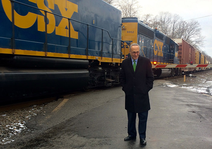 Schumer Calls for Major  Increase in Federal Rail and Transit Maintenance Funding