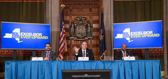 Cuomo Hails Budget for Advancing Middle Class  Recovery Act—Address Jobs, Homelessness, Education