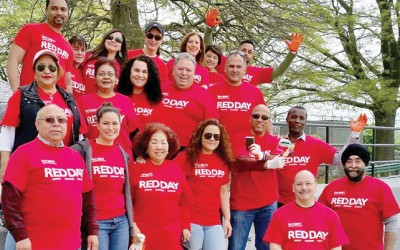 Keller Williams Realty  Liberty Celebrates 'RED' Day of Service in Howard Beach