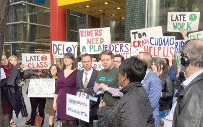 Angry Commuters Demand Action from State,  React to MTA Plan