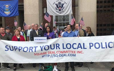 Organization Voices Opposition to Controversial  Puerto Rican Parade Honoree at Borough Hall Rally