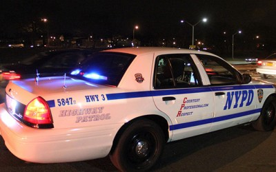 Wild Four-Car Van Wyck Expressway Accident  Leaves One Dead, Three in Cuffs