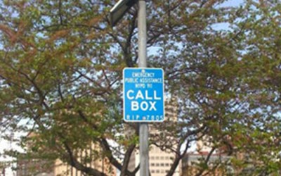 NYPD Call Boxes Installed at Forest Park