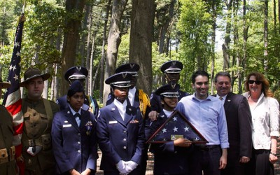 Community Celebrates Renewed Pine Forest  at Forest Park
