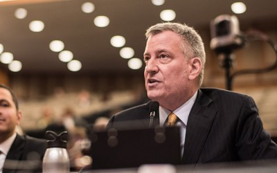 De Blasio, Senate Clash  over Mayoral Control of City Schools
