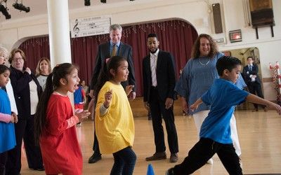 City Announces  Universal Physical Education Initiative