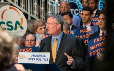 Ulrich Blasts de Blasio over Handling  of Mayoral Control 'Crisis'