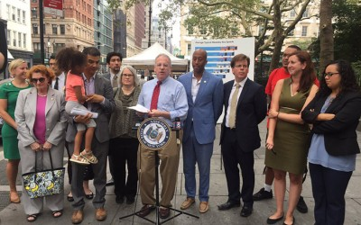 Rally Demands Better Bus Service in Five Boroughs