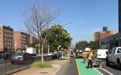 Mayor Touts Comprehensive Study  of Cyclist Safety