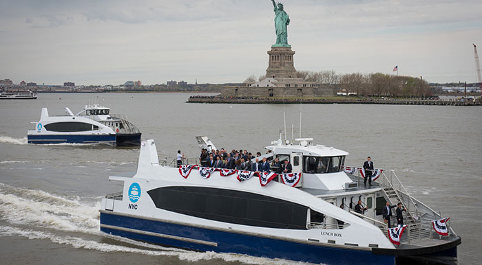 NYC Ferry  Passes Million-Rider Mark