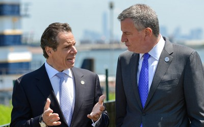 Cuomo and de Blasio Rip Each  Other over Rikers Island