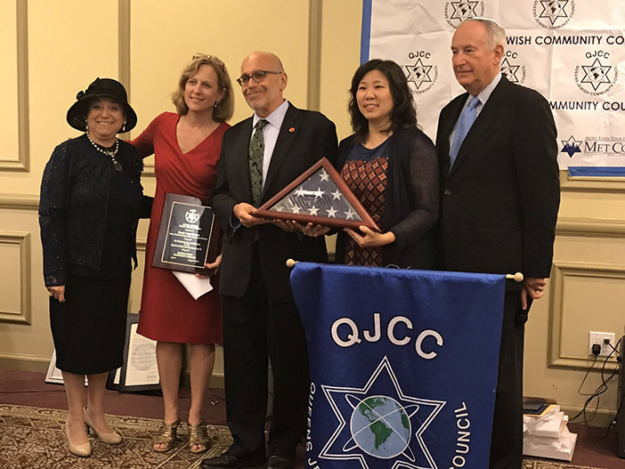 Borough Jewish Group Celebrates  Annual Testimonial Dinner