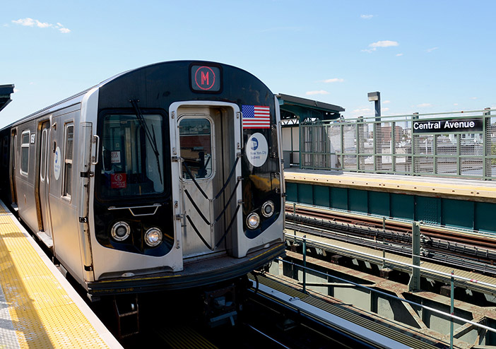 Reconstruction of M Line Fresh Pond Bridge  to Wrap up on Sept. 1: MTA