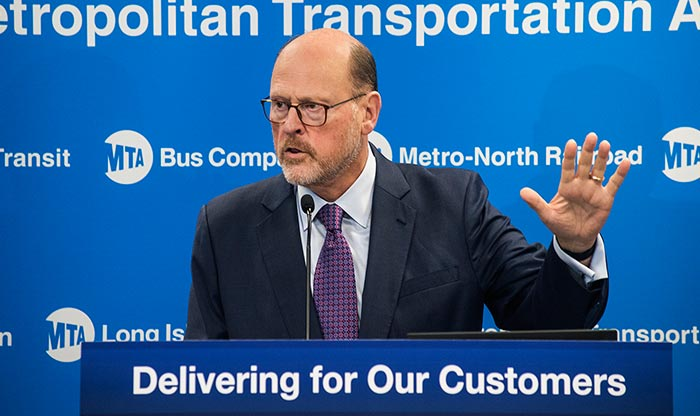 Lhota Announces MTA Leadership Appointments