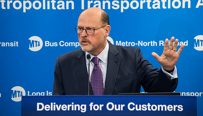 Lhota Announces MTA Leadership Appointments