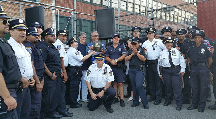 'National Night Out'  Highlights Police-Community Partnership 106th Precinct Auxiliary force honored at this year's celebration