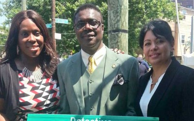 Far Rockaway Street  Co-Named  in Honor of Slain Detective
