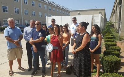 At 'Poorly Marked, Poorly Organized'  Rockaway Intersection, Pols Call for Safety Measures