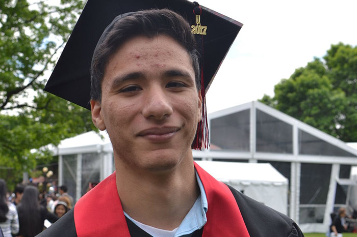 South Richmond Hill Resident Awarded Full-Tuition  Scholarship for Grad Study  at Queens College Meldryck Parraga also set for his first full-time teaching job  at August Martin High School